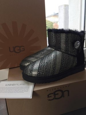 UGG Australia Women's Mini Bailey Button Bling Metallic