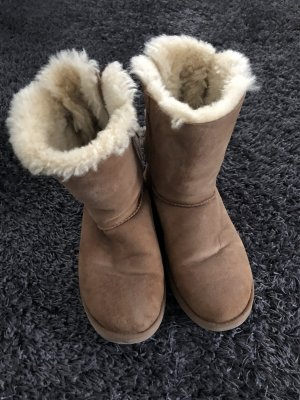 UGG Botas de nieve marrón