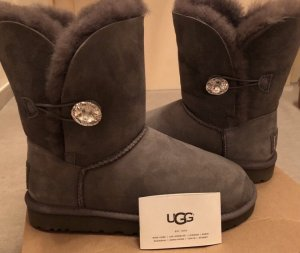 UGG Australia Boots silver-colored-grey