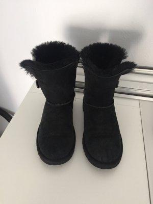 UGG Bailey Button Boots in schwarz 36