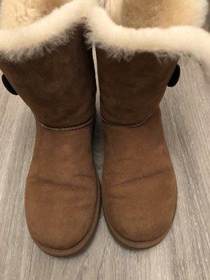 UGG Snow Boots cognac-coloured