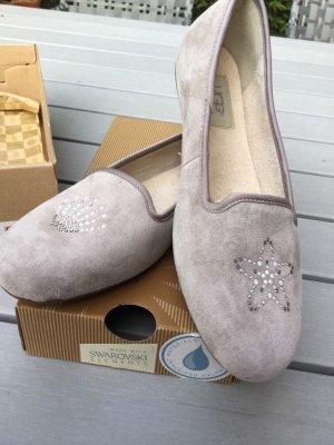 UGG Ballerinas / 37 mit echten Swarovski Steinen