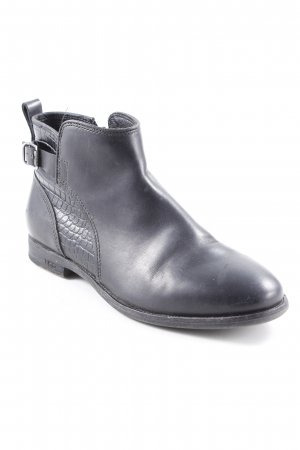 UGG Booties schwarz Animalmuster Casual-Look