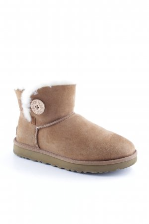 "UGG Booties ""W Mini Bailey Button II Chestnut"""
