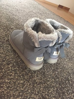 UGG Australia Boots grey-silver-colored