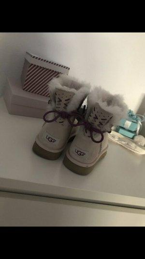 UGG Australia Chukka boot beige clair-blanc cassé
