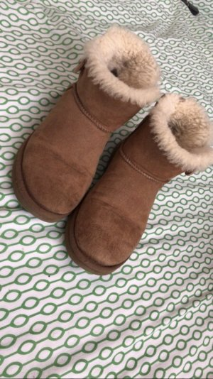 UGG Snow Boots camel-light brown