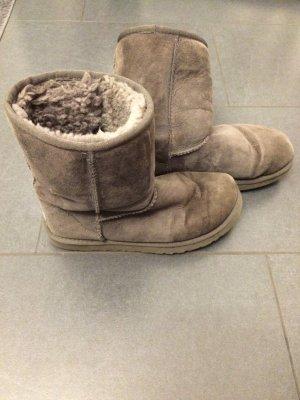 UGG Australia Laarzen met bont grijs Suede