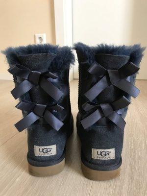 UGG Australia Snow Boots dark blue