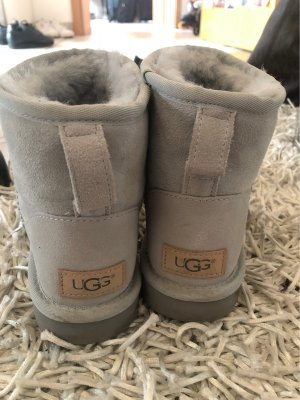UGG Snow Boots light grey-baby blue