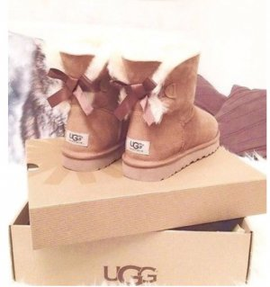 Ugg Boots Bailey Bow Chesnut