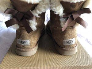 UGG Australia Fur Boots light brown-brown