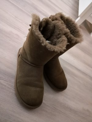 UGG Boots Bailey Bow Gr. 38 chestnut brown braun