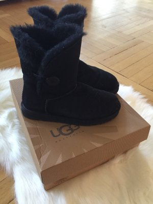 Ugg Boots Bailey Button Schwarz Original