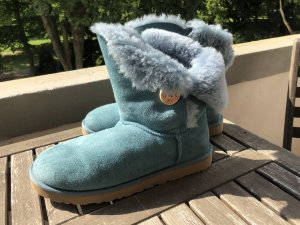 Ugg Boots Bailey Button Türkis gr. 41