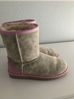 UGG Boots, beige/grau/rosa camoflash