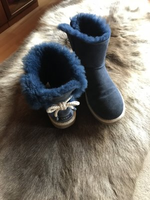 UGG Australia Snow Boots multicolored fur
