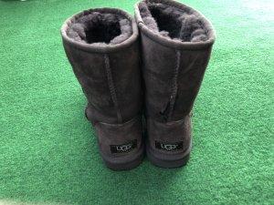 UGG Australia Botas de nieve color bronce-marrón Algodón