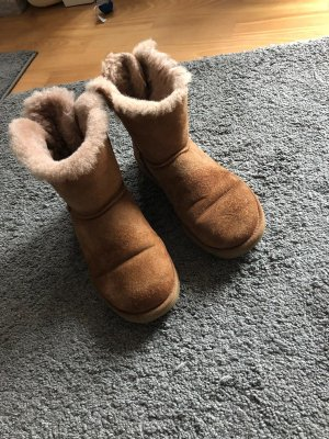 UGG Snow Boots grey brown