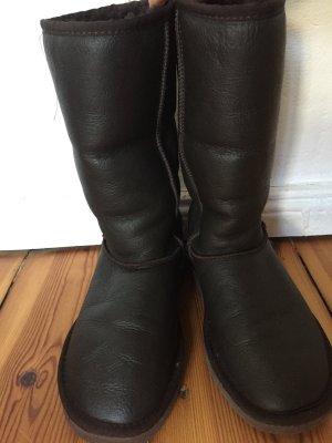 UGG Boots, Classic, dunkelbraun