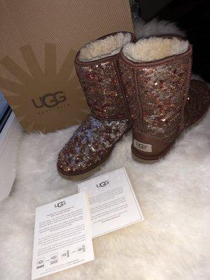 UGG Boots Classic Glitter Reversible
