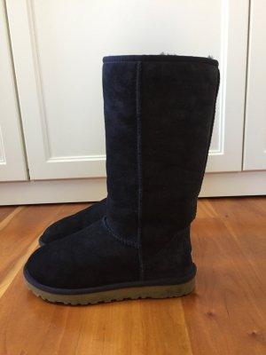 Ugg Boots Dunkelblau Schaffell
