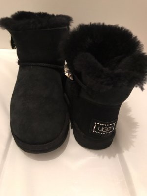 UGG Boots echtleder schwarz
