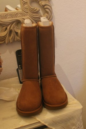 UGG Australia Boots light brown leather