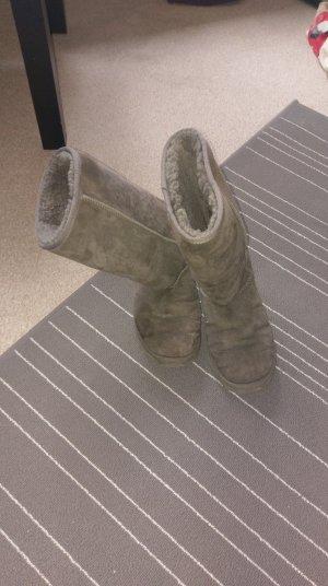 ugg boots grau 39 mit schönheitsfehlern