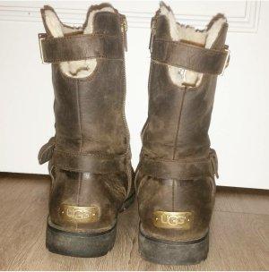 Ugg Boots Größe 39 dunkelbraun
