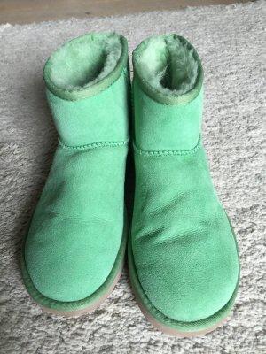 ugg Boots grün fast neu