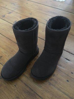 Ugg Boots in dunkelbraun