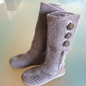 UGG Stretch laarzen grijs-lichtgrijs Wol