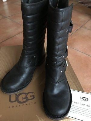UGG Australia Laarzen zwart Leer