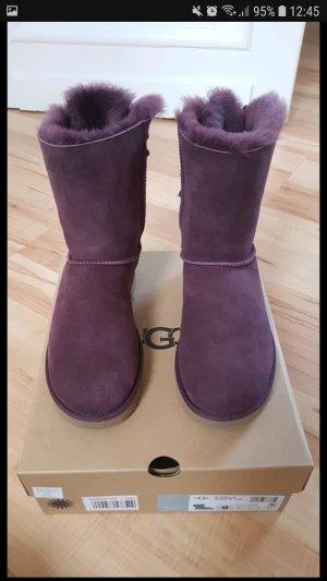 UGG Boots dark violet