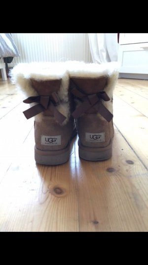 UGG Australia Fur Boots multicolored suede
