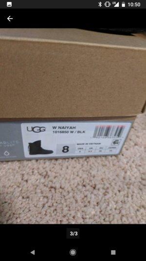 UGG Australia Boots black fur