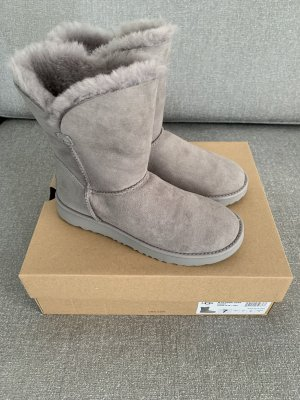 UGG Fur Boots light grey