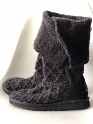 UGG Boots NEU Strick, schwarz Gr. 38