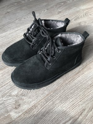 UGG Australia Winter Boots black-grey suede
