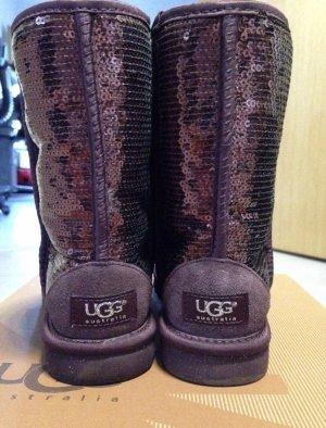 Ugg Boots Pailletten Bordeaux rot