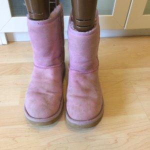 UGG Boots rosa Gr. 39 Lammfell
