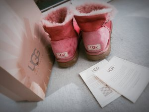 UGG Boots rose Clay Größe 40