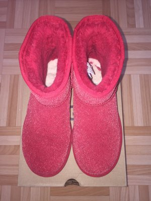 Ugg Boots Rot Glitzer