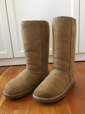 Ugg Boots Schaffell Beige Classic Tall