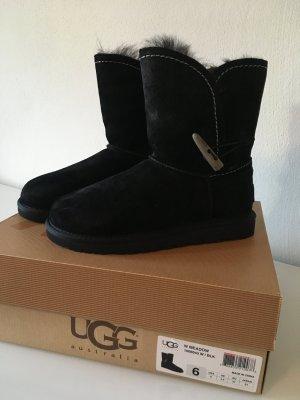 Ugg Boots schwarz 37 neu Stiefel Blogger Fashion