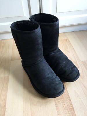 UGG Boots, schwarz, black