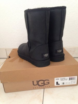 UGG Australia Boots black leather