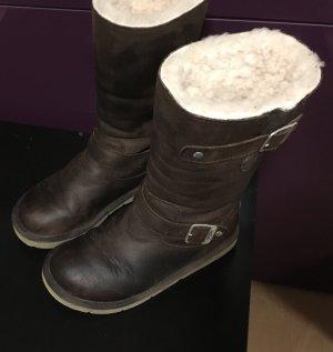 Ugg Boots Stiefel Biker Lammfell