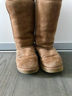UGG Australia Snow Boots camel wool